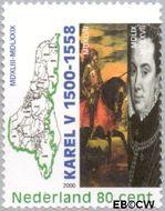 Nederland NL 1877b  2000 Keizer Karel V 80 cent  Gestempeld