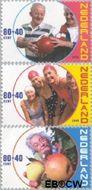 Nederland NL 1890#1892  2000 Ouderen  cent  Gestempeld