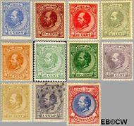 Nederland NL 19#29  1872 Koning Willem III- 5e emissie  cent  Gestempeld