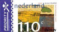 Nederland NL 1908  2000 Krabé, Jeroen 110 cent  Gestempeld