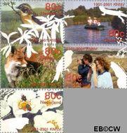 Nederland NL 1952#1956  2001 Vijf keer hart voor de natuur  cent  Gestempeld