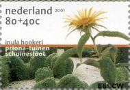 Nederland NL 1973f  2001 Tuinen in Nederland 80+40 cent  Gestempeld