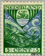 Nederland NL 200  1928 Provinciewapens 5+3 cent  Gestempeld