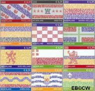 Nederland NL 2065#2076  2002 Provincie- zegel  cent  Postfris