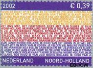Nederland NL 2067  2002 Provincie- zegel Noord-Holland 39 cent  Postfris