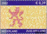 Nederland NL 2071  2002 Provincie- zegel Zuid-Holland 39 cent  Gestempeld
