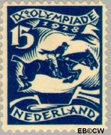 Nederland NL 218  1928 Olympische Spelen- Amsterdam 15+2 cent  Gestempeld