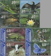 Nederland NL 2335a#2336d  2005 Natuurmonumenten  cent  Gestempeld