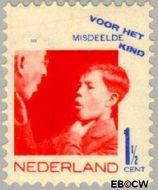 Nederland NL 240  1931 Misdeelde kind 1½+1½ cent  Gestempeld