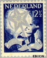 Nederland NL 264  1933 Drie-koningenfeest 12½+3½ cent  Gestempeld