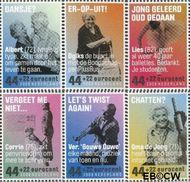 Nederland NL 2641a#2641f  2009 Ouderenzegels- Vergeet ze niet  cent  Gestempeld