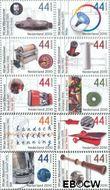 Nederland NL 2697#2706  2010 Rijksoctroowet  cent  Gestempeld