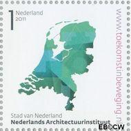 Nederland NL 2802  2011 Stad van Nederland 1 cent  Gestempeld