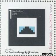 Nederland NL 2807  2011 Stad van Nederland 1 cent  Gestempeld