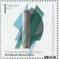 Nederland NL 2812  2011 Stad van Nederland 1 cent  Gestempeld