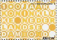 Nederland NL 2817  2011 Kon. Ned. Dambond 1 cent  Gestempeld