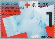 Nederland NL 2902b  2012 Het Nederlandse Rode Kruis 1+0,25 cent  Gestempeld
