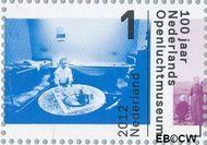 Nederland NL 2919  2012 Nederlands Openluchtmuseum 100 jaar 1 cent  Gestempeld