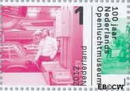 Nederland NL 2924  2012 Nederlands Openluchtmuseum 100 jaar 1 cent  Gestempeld