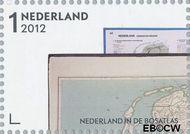 Nederland NL 2937  2012 Nederland in de Bosatlas 1 cent  Gestempeld