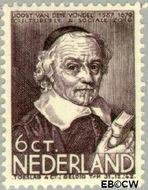 Nederland NL 298  1937 Bekende personen 6+4 cent  Postfris