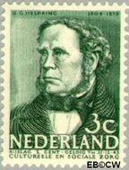 Nederland NL 306  1938 Bekende personen 3+2 cent  Postfris
