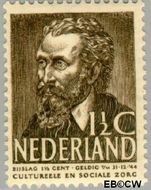 Nederland NL 318  1939 Bekende personen 1½+1½ cent  Gestempeld