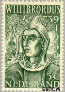 Nederland NL 323  1939 Willibrordus, St. 5 cent  Postfris