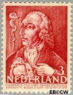 Nederland NL 352  1940 Bekende personen 3+3 cent  Gestempeld