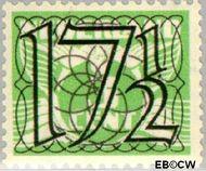 Nederland NL 361  1940 Cijfer type 'Guilloche' of ' tralie' 17½ cent  Gestempeld