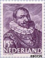 Nederland NL 415  1943 Zeehelden 15 cent  Postfris