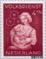 Nederland NL 424  1944 Winterhulp-Volksdienst 4+3½ cent  Postfris