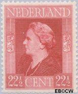 Nederland NL 438  1944 Bevrijding 22½ cent  Gestempeld