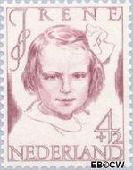Nederland NL 456  1946 Prinsessen 4+2 cent  Gestempeld