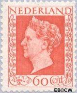 Nederland NL 489  1947 Koningin Wilhelmina- Type 'Hartz' 60 cent  Postfris
