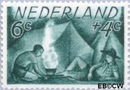 Nederland NL 515  1949 Zomermotieven 6+4 cent  Gestempeld