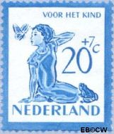 Nederland NL 567  1950 Kind en dieren 20+7 cent  Gestempeld