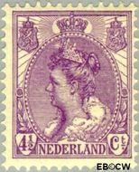 Nederland NL 59  1919 Koningin Wilhelmina- 'Bontkraag' 4½ cent  Gestempeld
