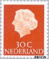 Nederland NL 624b  1971 Koningin Juliana- Type 'En Profile' 30 cent  Postfris
