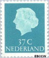 Nederland NL 626  1958 Koningin Juliana- Type 'En Profile' 37 cent  Gestempeld