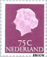 Nederland NL 633  1953 Koningin Juliana- Type 'En Profile' 75 cent  Postfris
