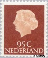 Nederland NL 636  1967 Koningin Juliana- Type 'En Profile' 95 cent  Gestempeld