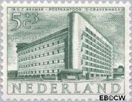 Nederland NL 656  1955 Gebouwen 5+3 cent  Gestempeld