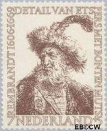 Nederland NL 673  1956 Rembrandt 7+5 cent  Gestempeld