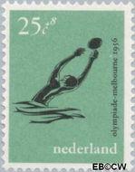 Nederland NL 680  1956 Olympische Spelen- Melbourne 25+8 cent  Postfris