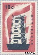 Nederland NL 681  1956 Europa in de stijgers 10 cent  Gestempeld