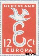 Nederland NL 713  1958 C.E.P.T.- Letter 'E' 12 cent  Gestempeld