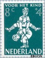 Nederland NL 717  1958 Kinderspel 8+4 cent  Postfris