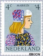 Nederland NL 747  1960 Klederdrachten 4+4 cent  Postfris