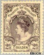 Nederland NL 78  1899 Koningin Wilhelmina- 'Bontkraag' 250 cent  Gestempeld